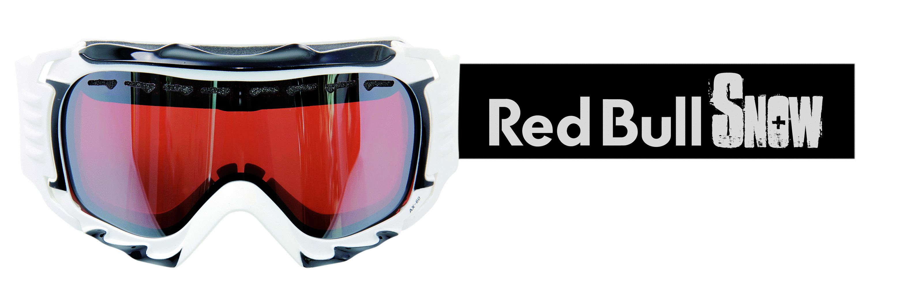 casco skibrille redbull ax 60 weiss helmfabrik. Black Bedroom Furniture Sets. Home Design Ideas