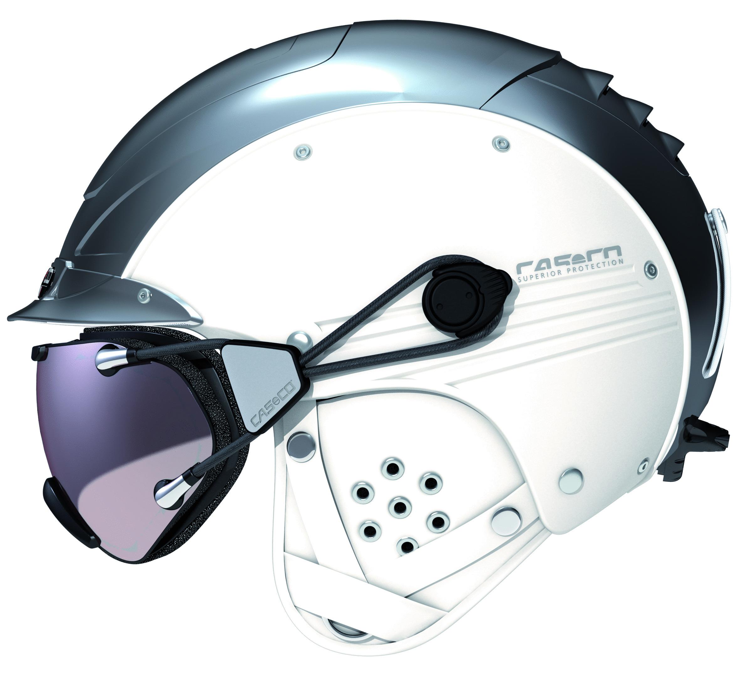 skihelm casco sp 5 3 weiss chrome im casco shop. Black Bedroom Furniture Sets. Home Design Ideas
