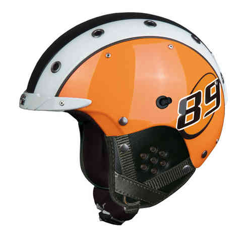Skihelm Casco SP-3 Airwolf 89 FX Magnet Link orange S