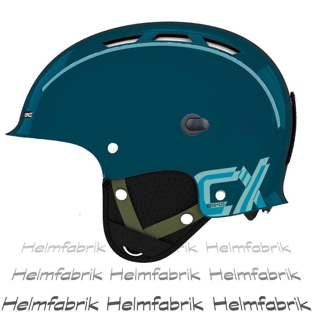 skihelm casco cx 3 petrol incl hardcase ohne skibrille s. Black Bedroom Furniture Sets. Home Design Ideas