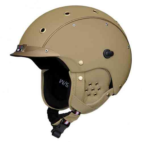 Skihelm Casco SP-3 Reflex gold incl. Hardcase