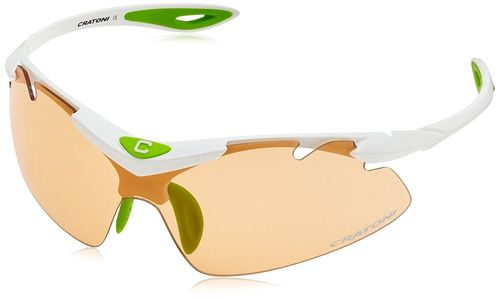 High Fly white Cratoni Sport- und Sonnenbrille incl. Hardcase