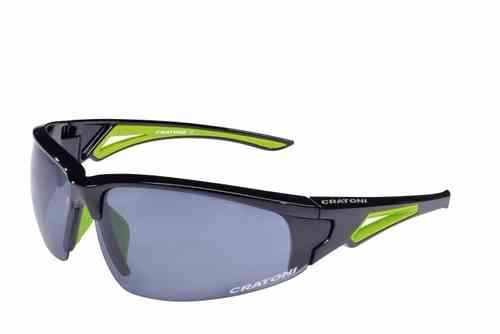 CRUSH black green Cratoni Sportbrille