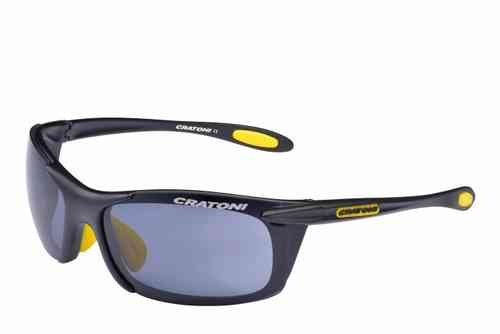 AIR BLAST black yellow matt Cratoni Sportbrille