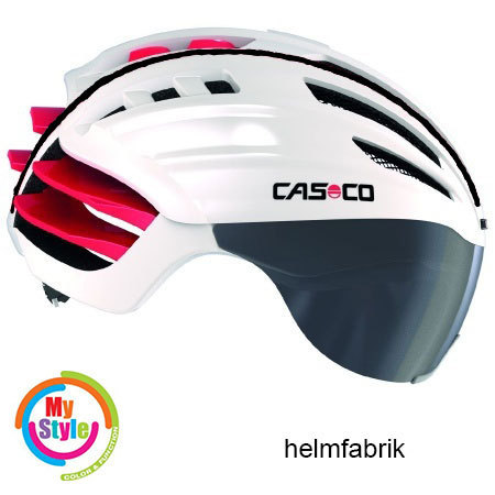 casco speed airo rennrad helme incl visier. Black Bedroom Furniture Sets. Home Design Ideas