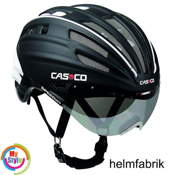 casco speedairo schwarz rennradhelm sport fahrradhelm incl. Black Bedroom Furniture Sets. Home Design Ideas