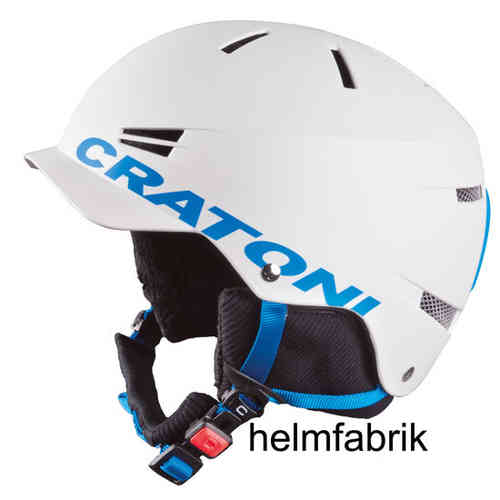 Skihelm Cratoni Mono white-ice matt