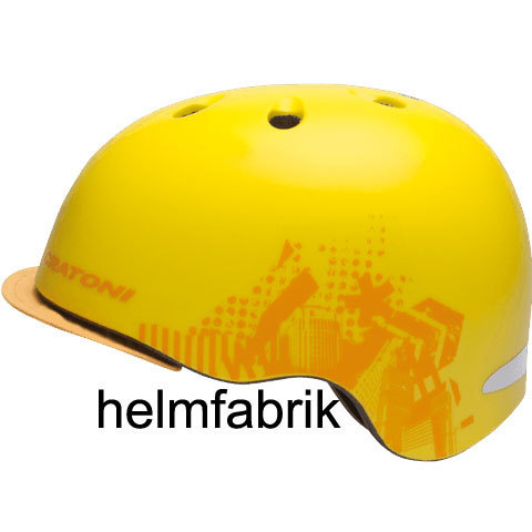 Cratoni BMX Fahrradhelm C-Reel plus cool yellow matt
