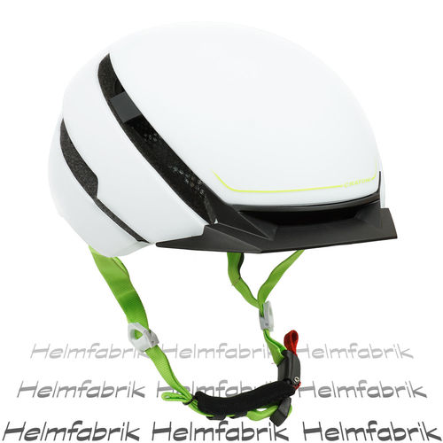 E-Bike-Helm,Fahrradhelm, Pedelec Helm Cratoni C-Loom white-green rubber