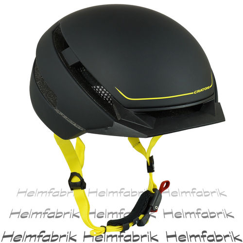 E-Bike-Helm,Fahrradhelm, Pedelec Helm Cratoni C-Loom black-yellow rubber