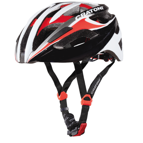 Rennradhelm Fahrradhelm Cratoni C-Breeze black-white-red glossy