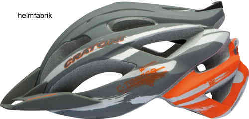 MTB Helm Cratoni C-Tracer anthracite-orange rubber Mountainbikehelm Fahrradhelm