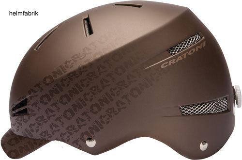 pedelec fahrradhelm urban helm cratoni lexo chocolate matt. Black Bedroom Furniture Sets. Home Design Ideas
