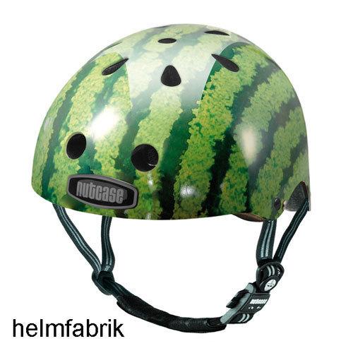 nutcase helm street gen3 watermelon radhelm skatehelm bmx. Black Bedroom Furniture Sets. Home Design Ideas
