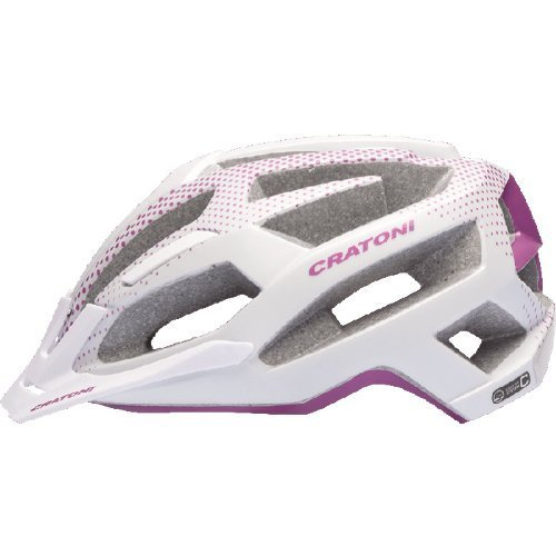 damen mtb helm cratoni c flash white purple matt damen. Black Bedroom Furniture Sets. Home Design Ideas