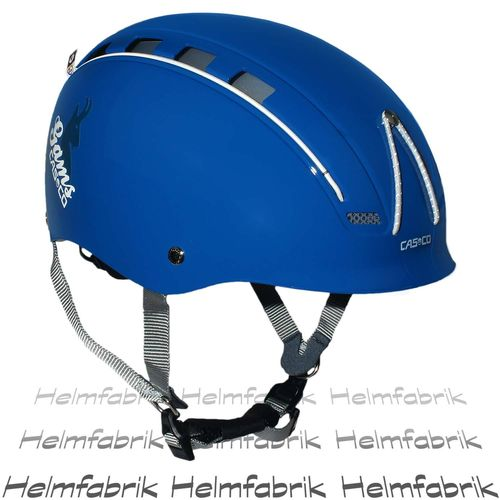 Multifunktionshelm Casco Gams, blau glanz, incl. Hardcase, Gr. M