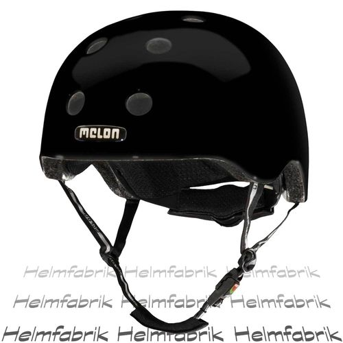 BMX Fahrradhelm Skatehelm Melon, Closed Eyes Glanz, Gr. M-L