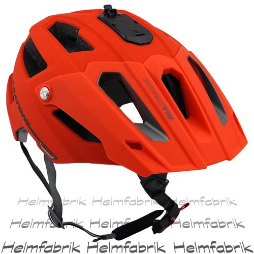 Mountainbike Helm Cratoni All Track, red-black rubber, Gr. S/M (54-58 cm)