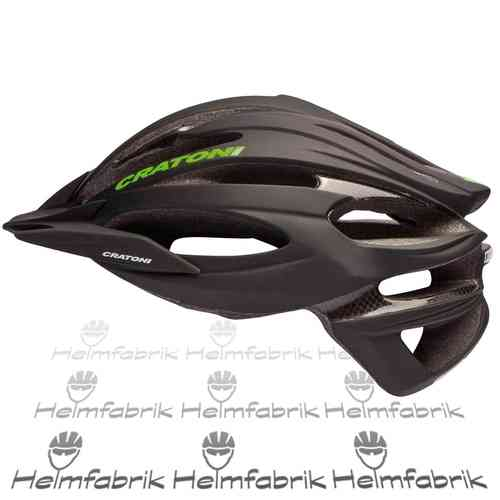 Mountainbike Helm Cratoni C-Limit, black-neongreen-black, Gr. M/L (56-59 cm)