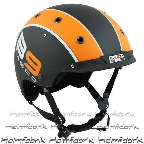 E-Bike Fahrradhelm Casco E.Motion Cruiser 89 schwarz-orange S/M