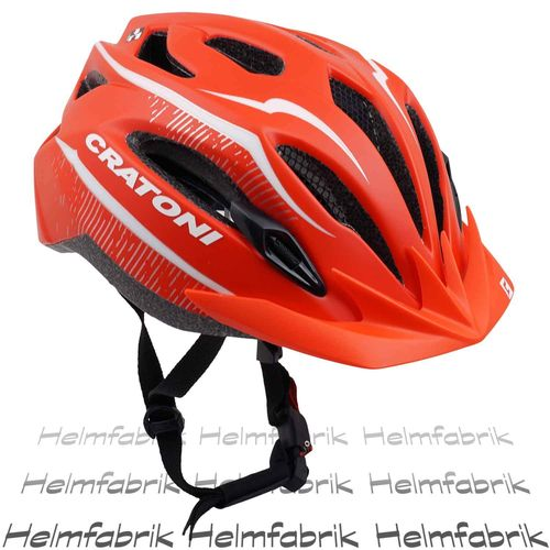 Fahrradhelm  Cratoni C-Smart, red matt, Gr. M/L (54-59 cm)