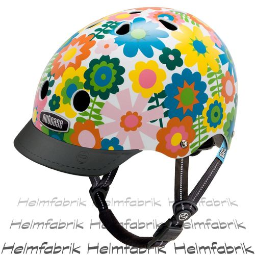 Fahrradhelm für Kinder Nutcase Gen3  - Little Nutty In Bloom, Gr. XS (48cm-52cm)