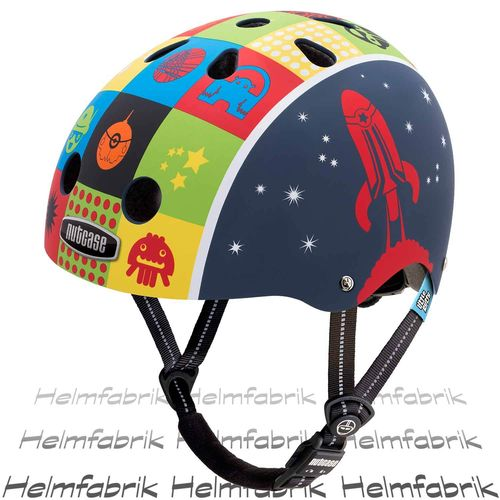 Fahrradhelm für Kinder Nutcase Gen3  - Little Nutty Space Cadet, Gr. XS (48cm-52cm)