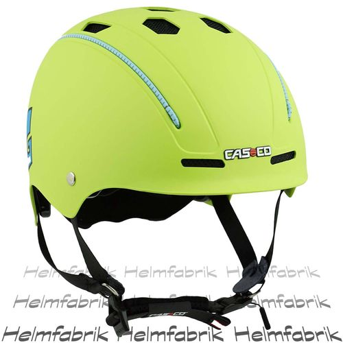 Fahrradhelm Casco Fun Generation, lime, Gr. Uni (50-56 cm)