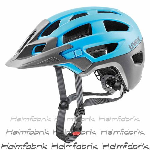 MTB All Mountain Fahrradhelm Uvex finale, gray-light blue mat, Gr. 52-57 cm