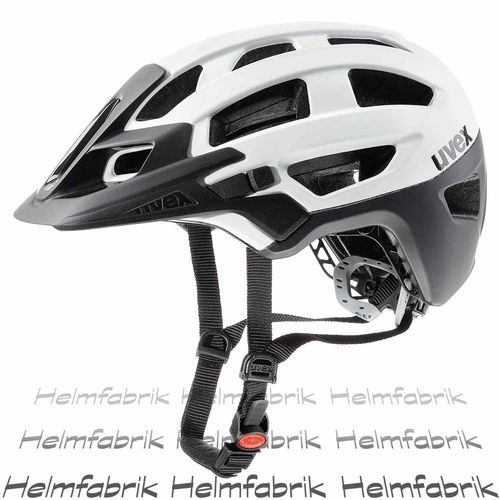 MTB All Mountain Fahrradhelm Uvex finale, white-black mat, Gr. 52-57 cm