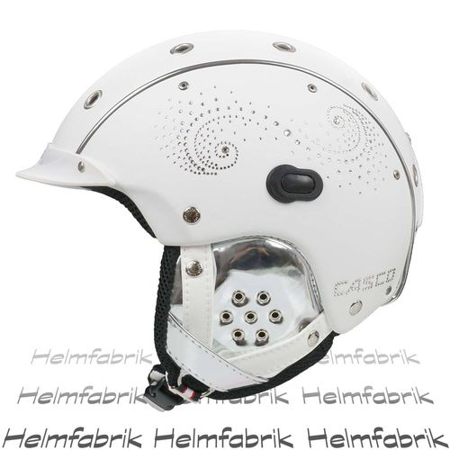 Skihelm Casco SP-3 Limited Crystal