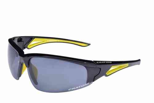 CRUSH black neon Cratoni Sportbrille