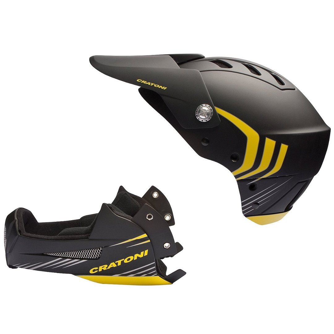 freeride helm fahrradhelm cratoni shakedown black yellow. Black Bedroom Furniture Sets. Home Design Ideas