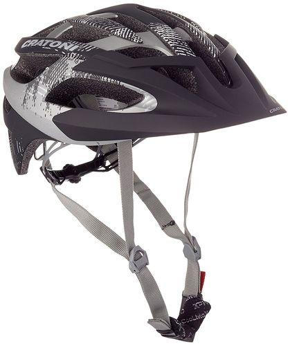 MTB Helm Cratoni C-Hawk black-anthracite rubber