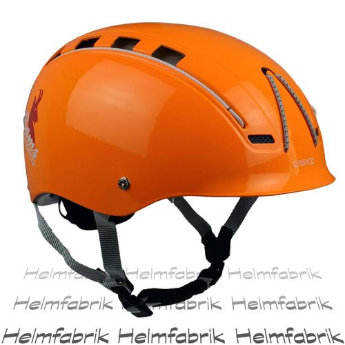 Multifunktionshelm Casco Gams, signal-orange glanz, incl. Hardcase, Gr. M