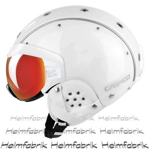 Skihelm Casco SP-6, weiß Multilayer, inkl. Hardcase, Gr. M (54-58 cm)