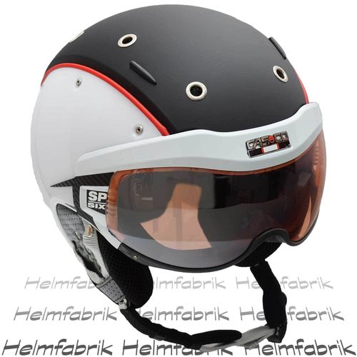 Skihelm Casco SP-6, Competition, inkl. Hardcase, Gr. S (52-54 cm)
