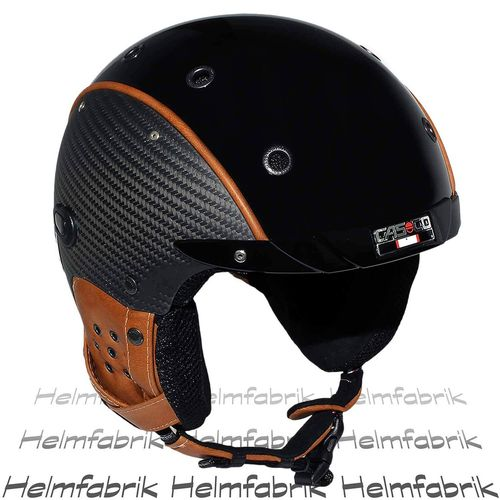Skihelm Casco SP-3 Limited Edition Carbon, Pure, inkl. Hardcase, Gr. S (52-54 cm)