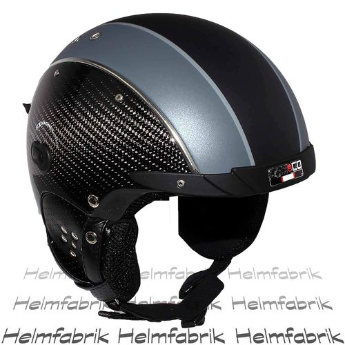 Skihelm Casco SP-3 Limited Edition Carbon, schwarz, inkl. Hardcase, Gr. S (52-54 cm)