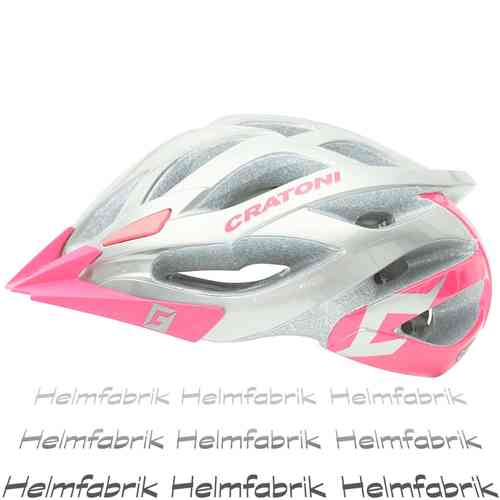 Fahrradhelm MTB Helm Cratoni Miuro, anthracite-pink glossy, Gr. M/L (54-59 cm)