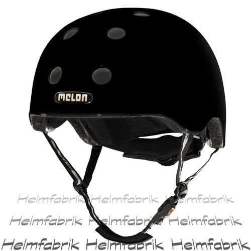 BMX Fahrradhelm Skatehelm Melon, Closed Eyes Matt, Gr. XXS-S