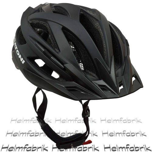 Mountainbike Helm Cratoni Agravic, black matt, Gr. S/M (54-58 cm)