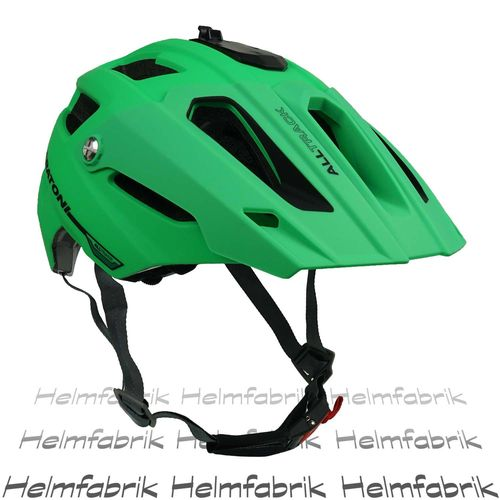 Mountainbike Helm Cratoni All Track, green-black rubber, Gr. M/L (58-62 cm)