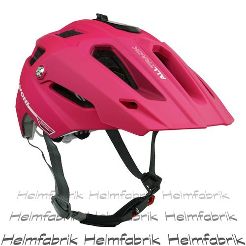 Mountainbike Helm Cratoni All Track, pink-berry rubber, Gr. S/M (54-58 cm)