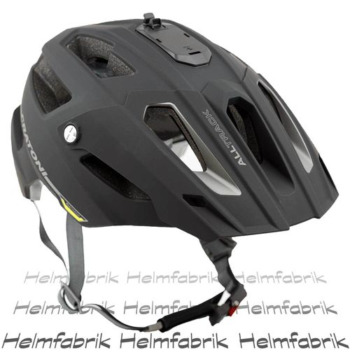 Mountainbike Helm Cratoni All Track, black-anthracite rubber, Gr. S/M (54-58 cm)