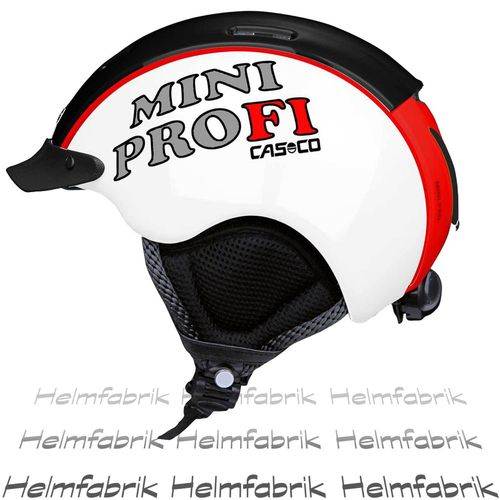 Skihelm für Kinder Casco Mini Pro, Competition, Gr. S  (50-55 cm)