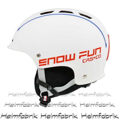Skihelm für Kinder Casco Snow Fun Junior, weiß, Gr. S (50-55 cm)