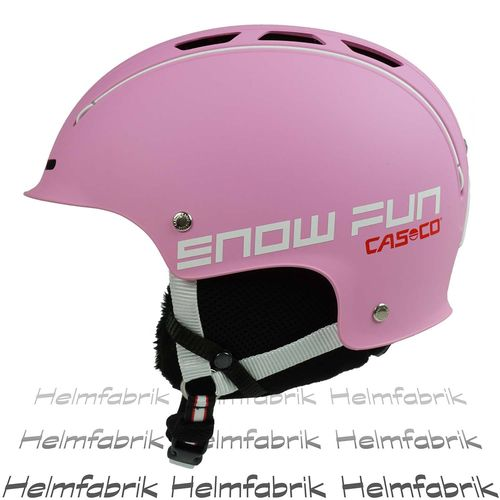 Skihelm für Kinder Casco Snow Fun Junior, pink, Gr. S (50-55 cm)