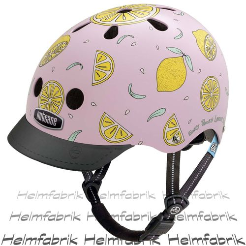 Fahrradhelm für Kinder Nutcase Gen3  - Little Nutty Pink Lemonade, Gr. XS (48cm-52cm)