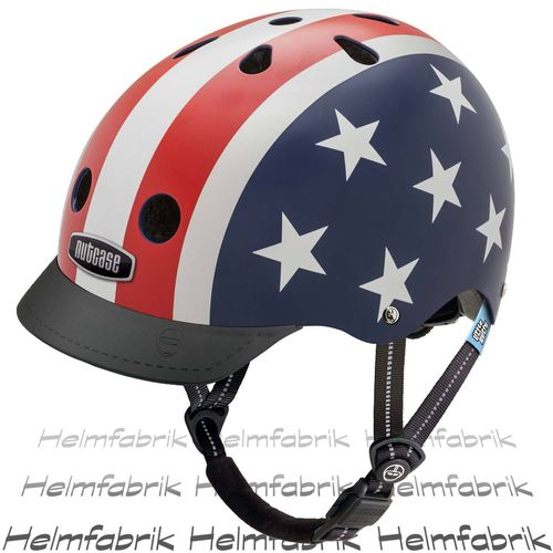Fahrradhelm für Kinder Nutcase Gen3  - Little Nutty Stars & Stripes, Gr. XS (48cm-52cm)